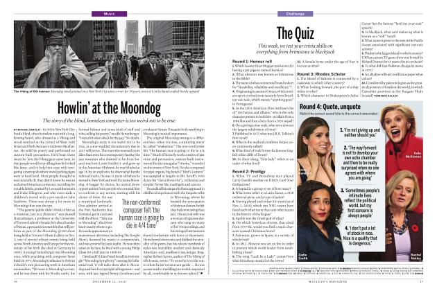 Article Preview: Howlin' at the Moondog, DECEMBER 12 2016 | Maclean's