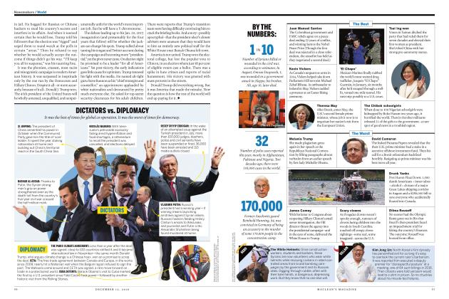 Article Preview: BY THE NUMBERS:, DECEMBER 12 2016 | Maclean's