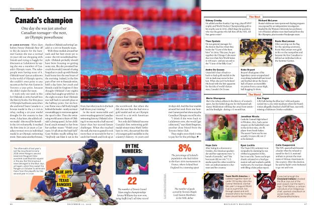 Article Preview: Canada's champion, DECEMBER 12 2016 | Maclean's