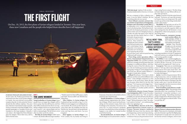 Article Preview: THE FIRST FLIGHT, DECEMBER 12 2016 | Maclean's