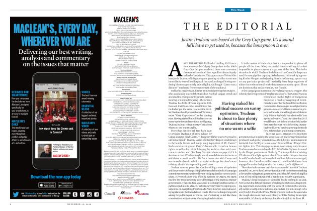Article Preview: THE EDITORIAL, December 19 2016 | Maclean's