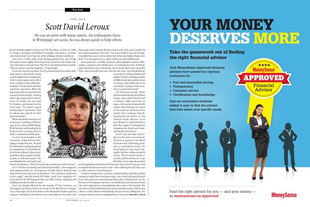 Article Preview: 1988-2016 Scott David Leroux, December 19 2016 | Maclean's