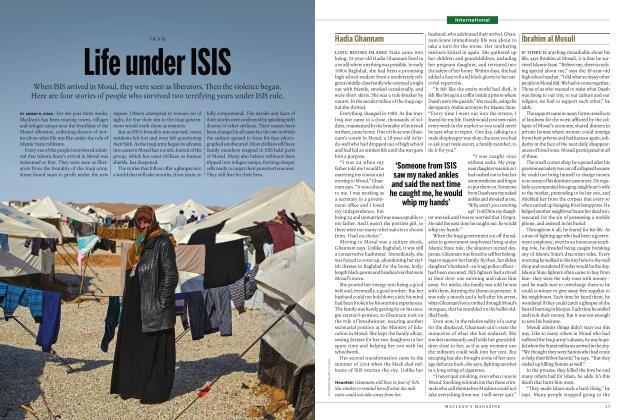 Article Preview: Life under ISIS, JANUARY 2017 | Maclean's