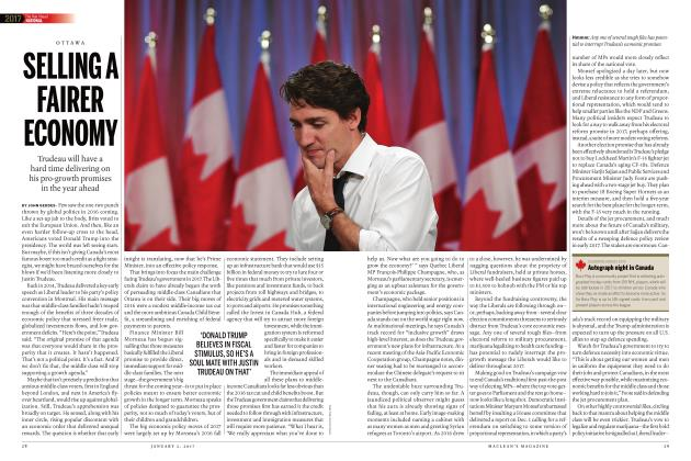 Article Preview: SELLING A FAIRER ECONOMY, JANUARY  2017 2017 | Maclean's