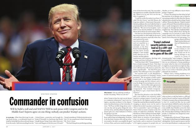 Article Preview: Commander in confusion, JANUARY 2017 | Maclean's