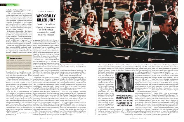 Article Preview: WHO REALLY KILLED JFK?, JANUARY 2017 | Maclean's