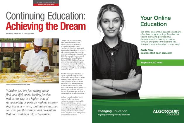 Article Preview: Continuing Education: Achieving the Dream, JANUARY 2017 | Maclean's