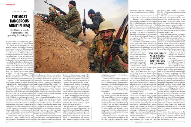 Article Preview: THE MOST DANGEROUS ARMY IN IRAQ, FEBRUARY 2017 | Maclean's