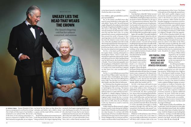 Article Preview: UNEASY LIES THE HEAD THAT WEARS THE CROWN, FEBRUARY 2017 | Maclean's