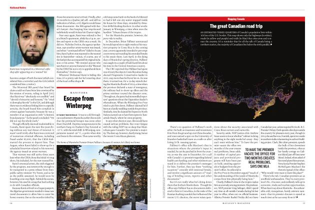 Article Preview: Escape from Winterpeg, FEBRUARY 2017 | Maclean's