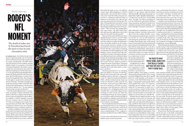 Article Preview: RODEO'S NFL MOMENT, MARCH 2017 | Maclean's