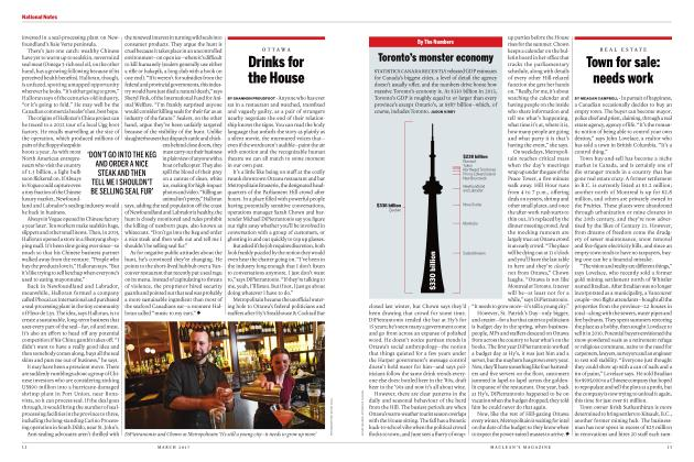 Article Preview: Drinks for the House, MARCH 2017 | Maclean's
