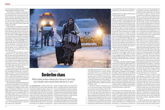 Article Preview: Borderline chaos, APRIL 2017 | Maclean's