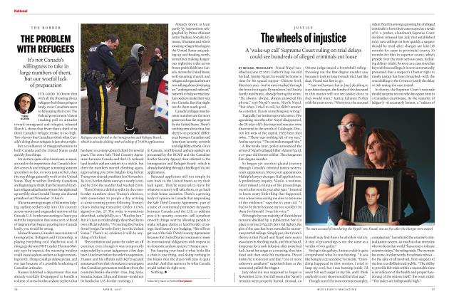 Article Preview: The wheels of injustice, APRIL 2017 | Maclean's