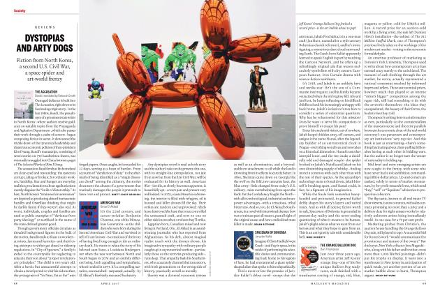 Article Preview: THE ORANGE BALLOON DOG Don Thompson, APRIL 2017 | Maclean's