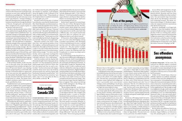 Article Preview: Rebranding Canada 150, APRIL 2017 | Maclean's