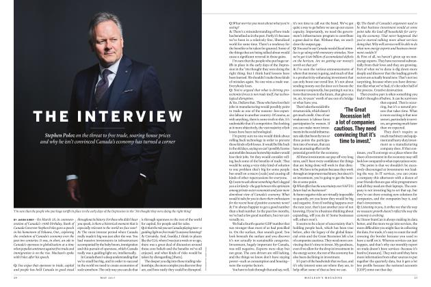 Article Preview: THE INTERVIEW, MAY 2017 | Maclean's