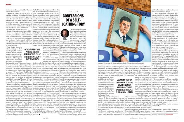 Article Preview: CONFESSIONS OF A SELFLOATHING TORY, MAY 2017 2017 | Maclean's
