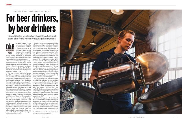 Article Preview: For beer drinkers, by beer drinkers, MAY 2017 | Maclean's