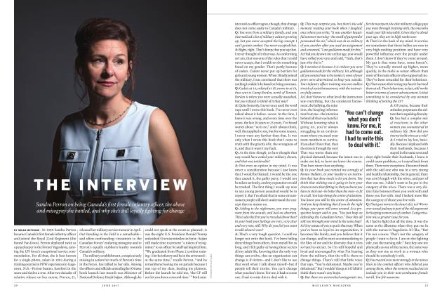Article Preview: THE INTERVIEW, JUNE 2017 | Maclean's