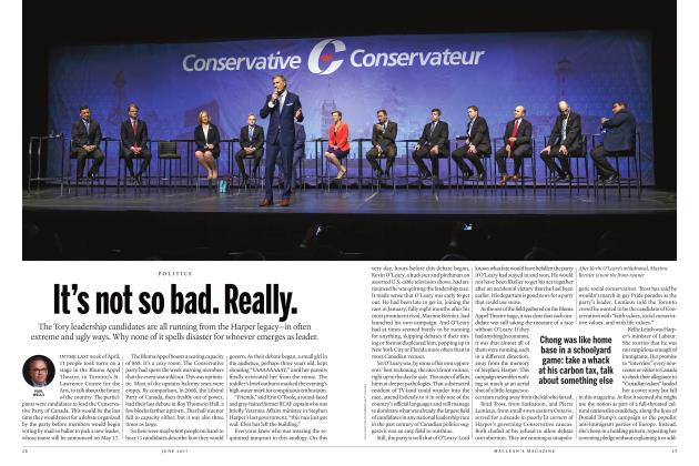 Article Preview: It's not so bad. Really., JUNE 2017 2017 | Maclean's
