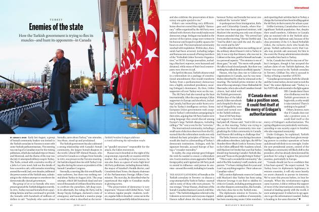 Article Preview: Enemies of the state, JUNE 2017 | Maclean's