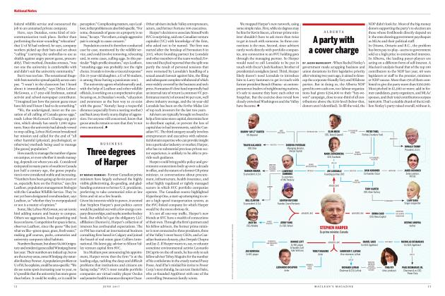 Article Preview: A party with a cover charge, JUNE 2017 2017 | Maclean's