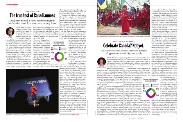 Article Preview: The true test of Canadianness, JULY 2017 2017 | Maclean's