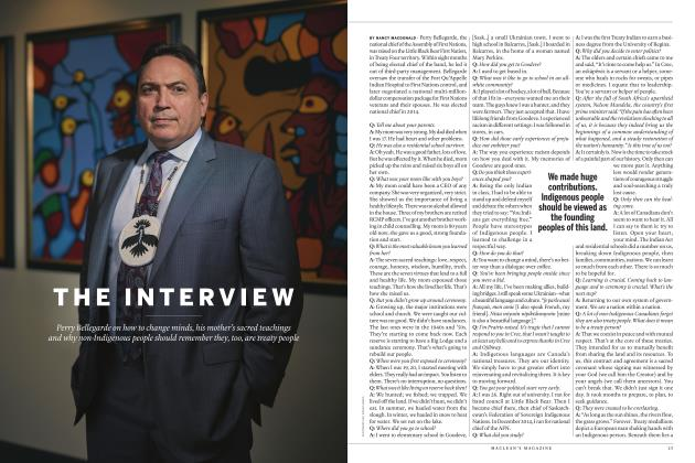 Article Preview: THE INTERVIEW, JULY 2017 2017 | Maclean's