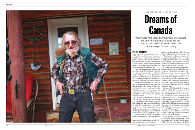 Article Preview: Dreams of Canada, JULY 2017 | Maclean's