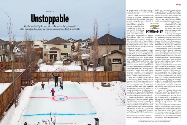 Article Preview: Unstoppable, JULY 2017 | Maclean's