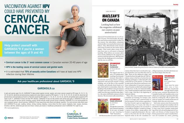 Article Preview: MACLEAN'S ON CANADA, JULY 2017 | Maclean's