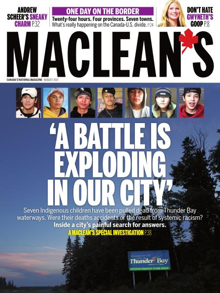 Issue: - AUGUST 2017 | Maclean's