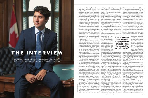 Article Preview: THE INTERVIEW, AUGUST 2017 2017 | Maclean's