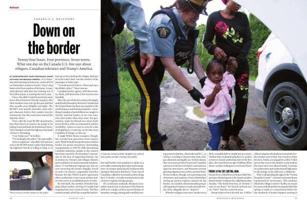 Article Preview: Down on the border, AUGUST 2017 2017 | Maclean's