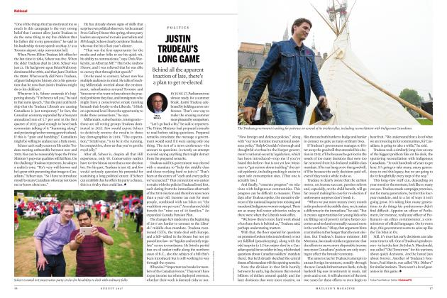 Article Preview: JUSTIN TRUDEAU'S LONG GAME, AUGUST 2017   Maclean's