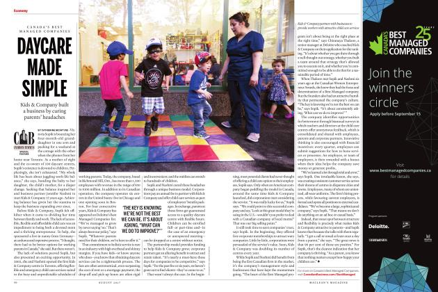 Article Preview: DAYCARE MADE SIMPLE, AUGUST 2017 | Maclean's