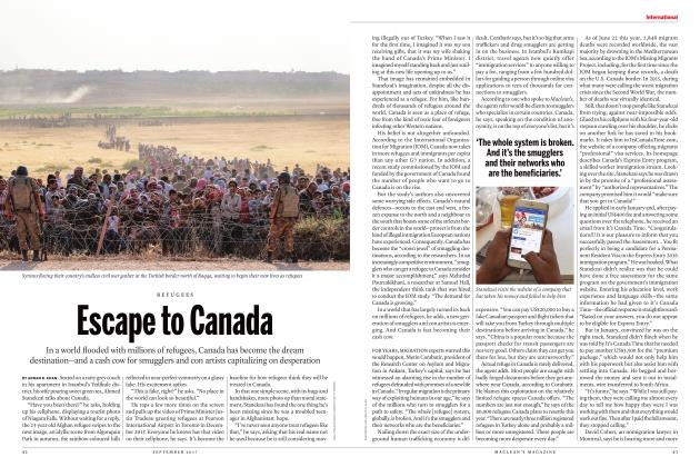 Article Preview: Escape to Canada, SEPTEMBER 2017 | Maclean's