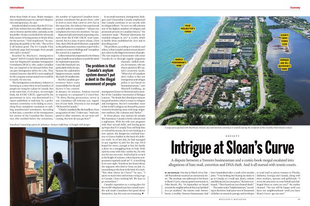 Article Preview: Intrigue at Sloan's Curve, SEPTEMBER 2017 2017 | Maclean's