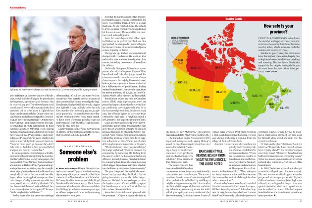 Article Preview: Someone else's problem, SEPTEMBER 2017 2017 | Maclean's