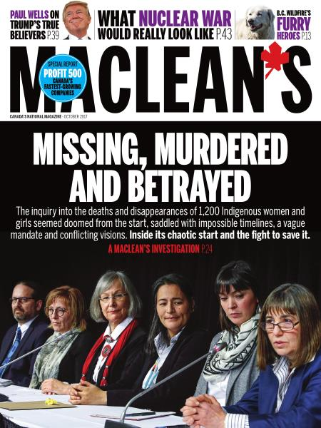 Issue: - OCTOBER 2017 | Maclean's