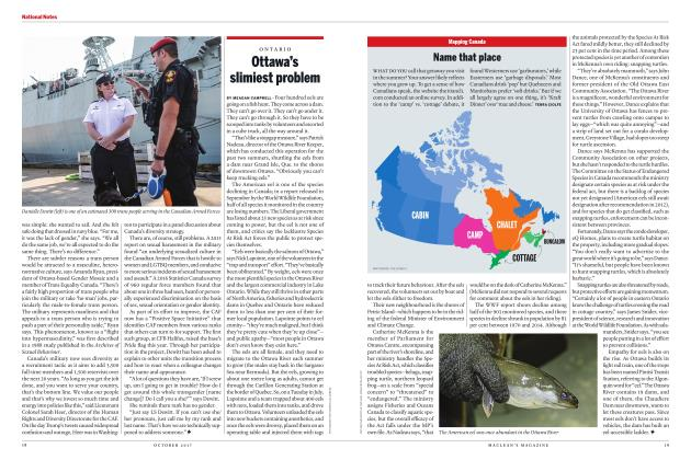Article Preview: Ottawa's slimiest problem, OCTOBER 2017 2017 | Maclean's