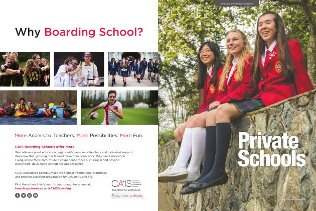 Article Preview: Seize the Private School Advantage, OCTOBER 2017 2017 | Maclean's