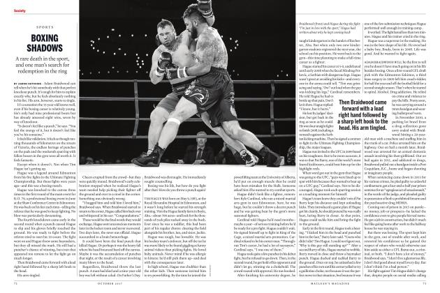Article Preview: BOXING SHADOWS, OCTOBER 2017 2017 | Maclean's