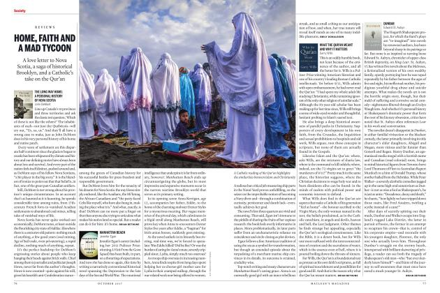 Article Preview: HOME, FAITH AND A MAD TYCOON, OCTOBER 2017 2017 | Maclean's