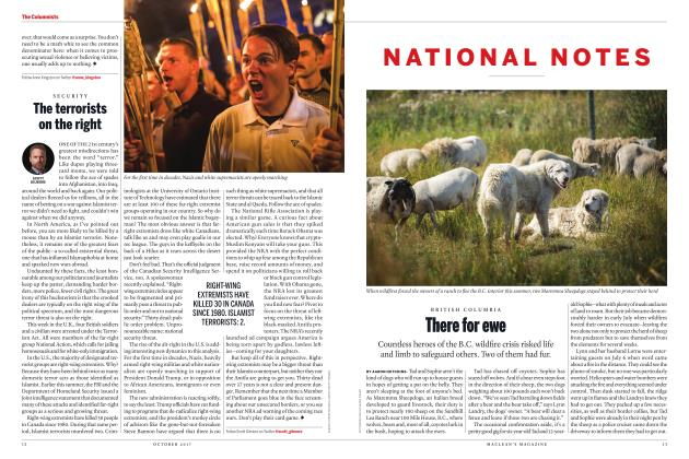Article Preview: There for ewe, OCTOBER 2017 2017 | Maclean's