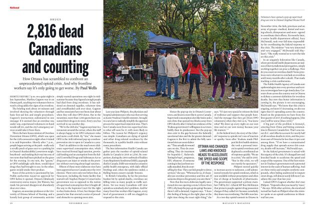 Article Preview: 2,816 dead Canadians and counting, NOVEMBER 2017 | Maclean's