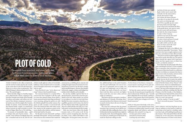 Article Preview: PLOT OF GOLD, NOVEMBER 2017 | Maclean's