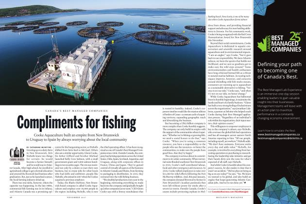 Article Preview: Compliments for fishing, NOVEMBER 2017 | Maclean's