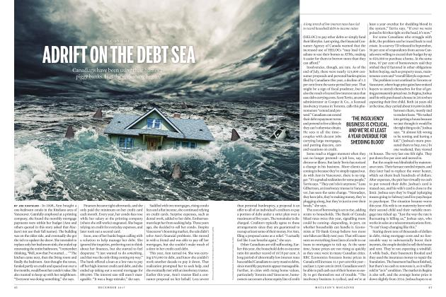 Article Preview: ADRIFT ON THE DEBT SEA, DECEMBER 2017 | Maclean's